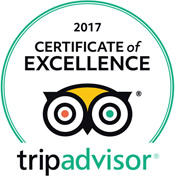 Trip Advisor Seal of Excellence 2017