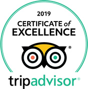 Trip Advisor Seal of Excellence 2019
